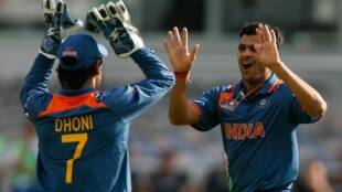 RP SINGH AND MS DHONI 850