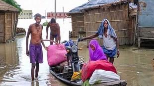 Bihar flood, community kitchen, CM Nitish Kumar,
