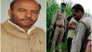 CRIME, BJP LEADER SHOT DEAD, UTTAR PRADESH
