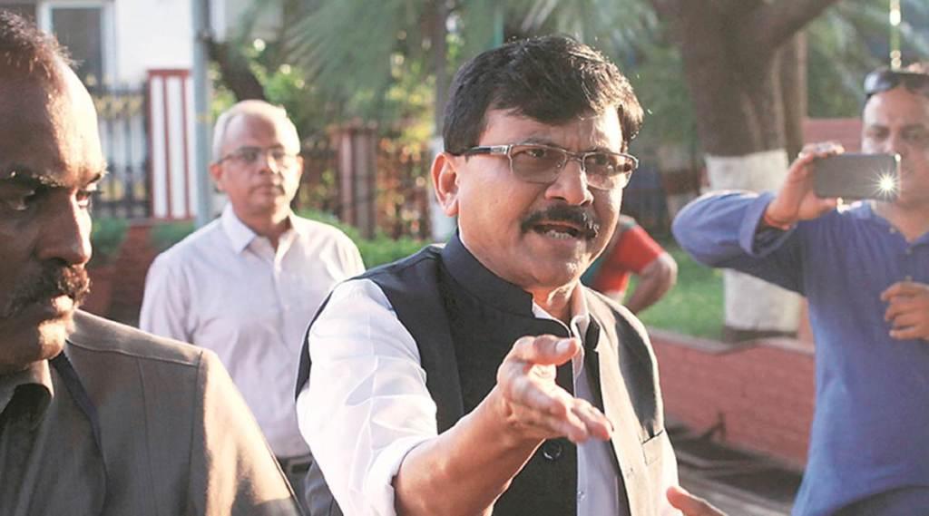 parliament, monsoon session, corona virus, Shiv sena, MP sanjay raut, bhabhiji papad, jansatta