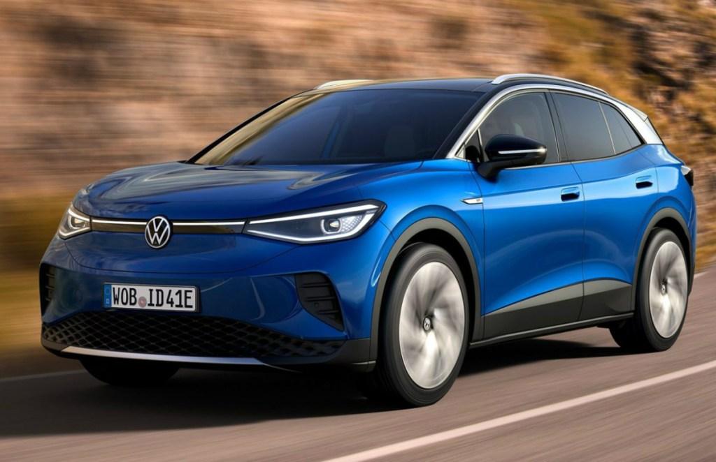Volkswagen ID.4 Electric SUV, Volkswagen ID.4 Price, Volkswagen Electric SUV for India, Volkswagen ID.4 Driving range