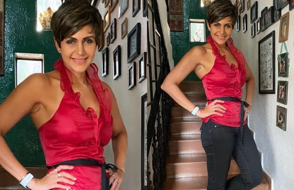 Mandira Bedi ,Stylish Mandira Bedi, Fitness Freak Mandira Bedi, Mandira Bedi Daughter,