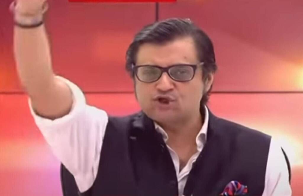 arnab goswami, Tv debate, republic tv, poochta hai bharat,