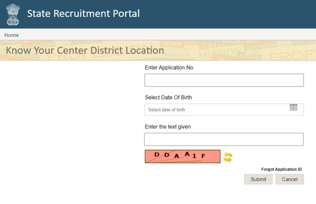rajasthan police constable recruitment 2020, Rajasthan Constable Exam Centre released,