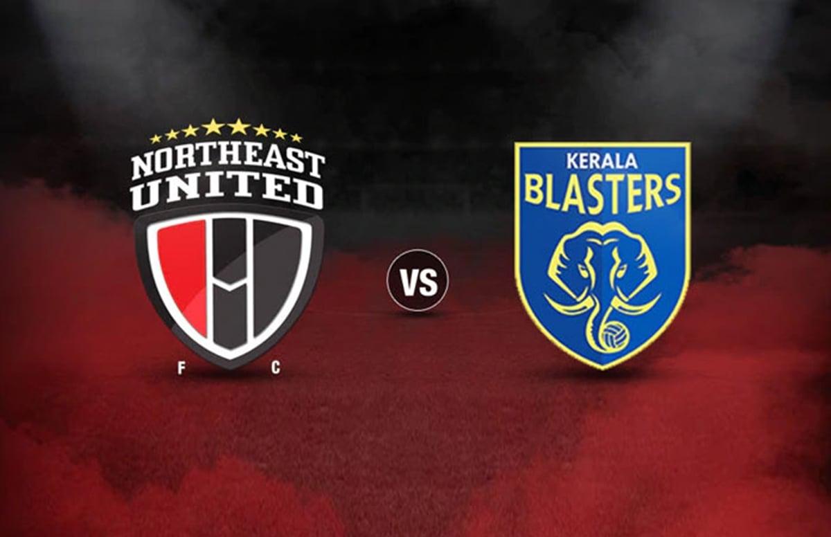 Guinia striker Idrisa Celia led NorthEast United to a 2-2 draw with Kerala Blasters