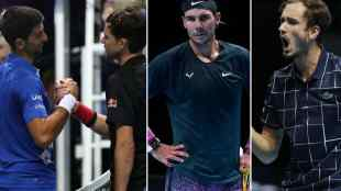ATP Finals, Dominic Thiem, Novak Djokovic, Daniil Medvedev, Rafael Nadal