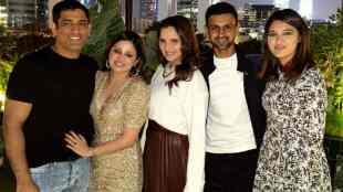 MS Dhoni, MS Dhoni wife, Sakshi, Sakshi birthday, birthday party