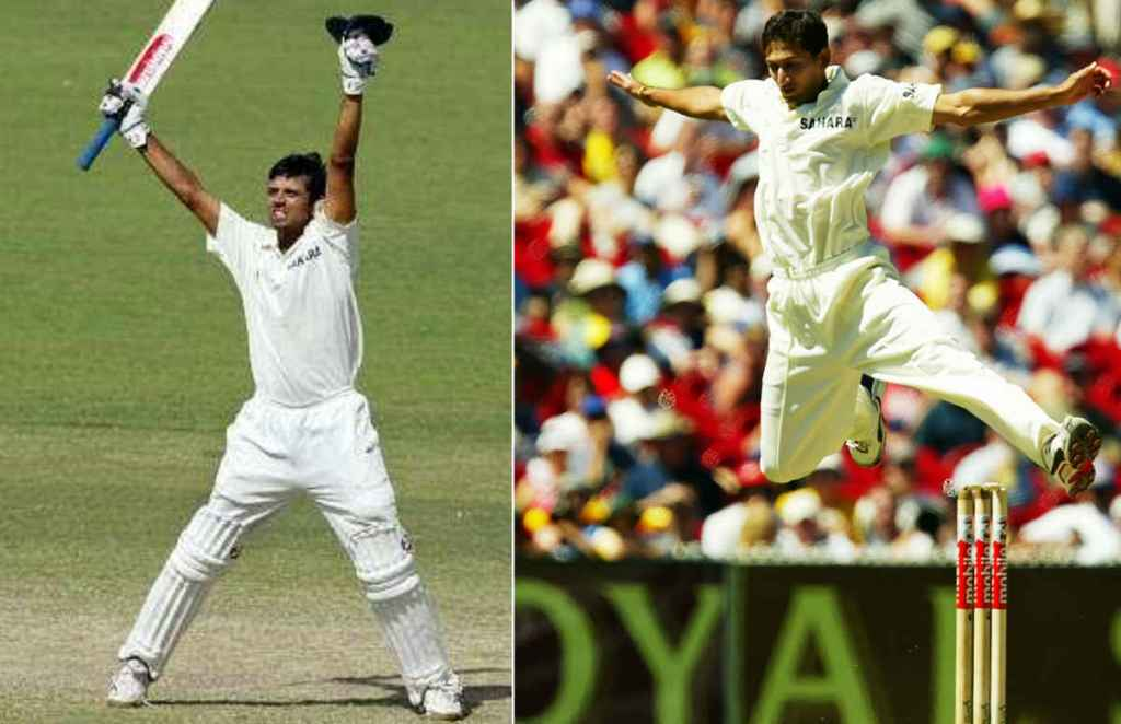 India vs Australia, Rahul Dravid, VVS Laxman, Ajit Agarkar, Ricky Ponting