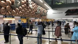 Britain, Coronavirus, Delhi Airport