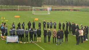 Lorient players staff employees Accident