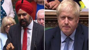 UK Parliament, Boris Johnson