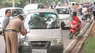traffic challan, vehicle fine