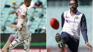 David Warner Mohammed Siraj India vs Australia