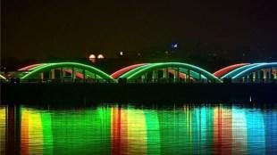 Chennai , Napier Bridge , New Year , 2021