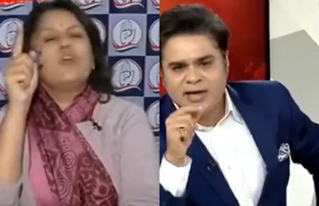 TV debate news18 india