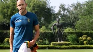 Faf du Plessis, former South Africa captain, du Plessis
