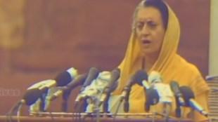 Indira gandhi, protest, redfort