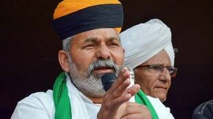Rakesh Tikait, farmers protest, delhi police