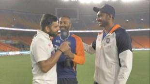 Virat Kohli Axar Patel Hardik Pandya India vs England Narendra Modi Stadium