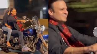 VIVEK OBEROI, Vivek Oberoi Expensive Bike, Vivek Oberoi Wife, Vivek Oberoi romantic ride on bike,