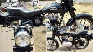 Second hand bike, Royal Enfield Bullet, Royal Enfield Bullet 350cc, Royal Enfield Bullet price