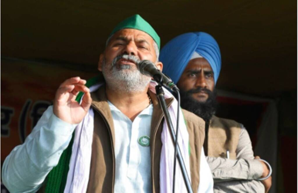 rakesh tikait, farmers protest, red fort