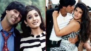 raveena tandon love story, ajay devgan, akshay kumar