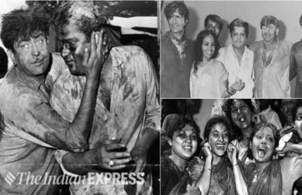 Amitabh Bachchan, Dilip Kumar, Raj Kapoor, Lavish Holi Party, Holi 2021, Holi Celebration,