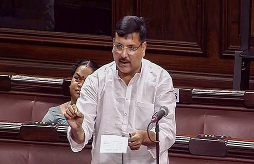 Sanjay Singh, AAP,rajyasabha