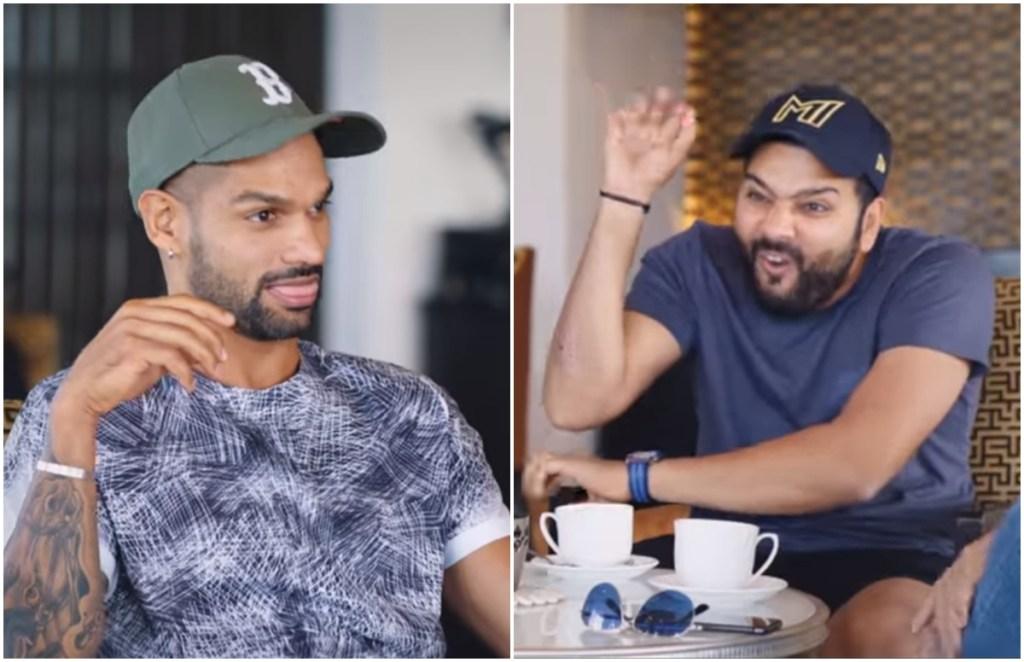 Shikhar Dhawan Rohit Sharma Ajinkya Rahane YouTube Breakfast With Champions 3