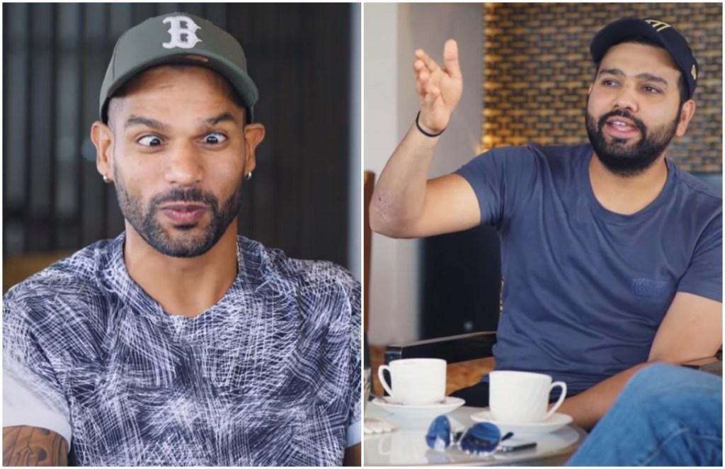 Shikhar Dhawan Rohit Sharma YouTube Breakfast With Champions