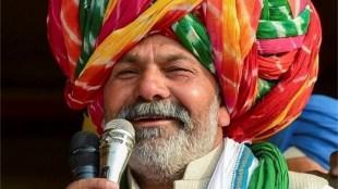 rakesh tikait, farmer protest, up police, Kaushambi, modi government