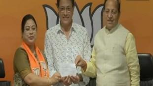 Arun Govil, Arun Govil Joins BJP , Ramanad Sagar, Ramayan Actor Arun Govil joins BJP, Bharatiya Janata Party,