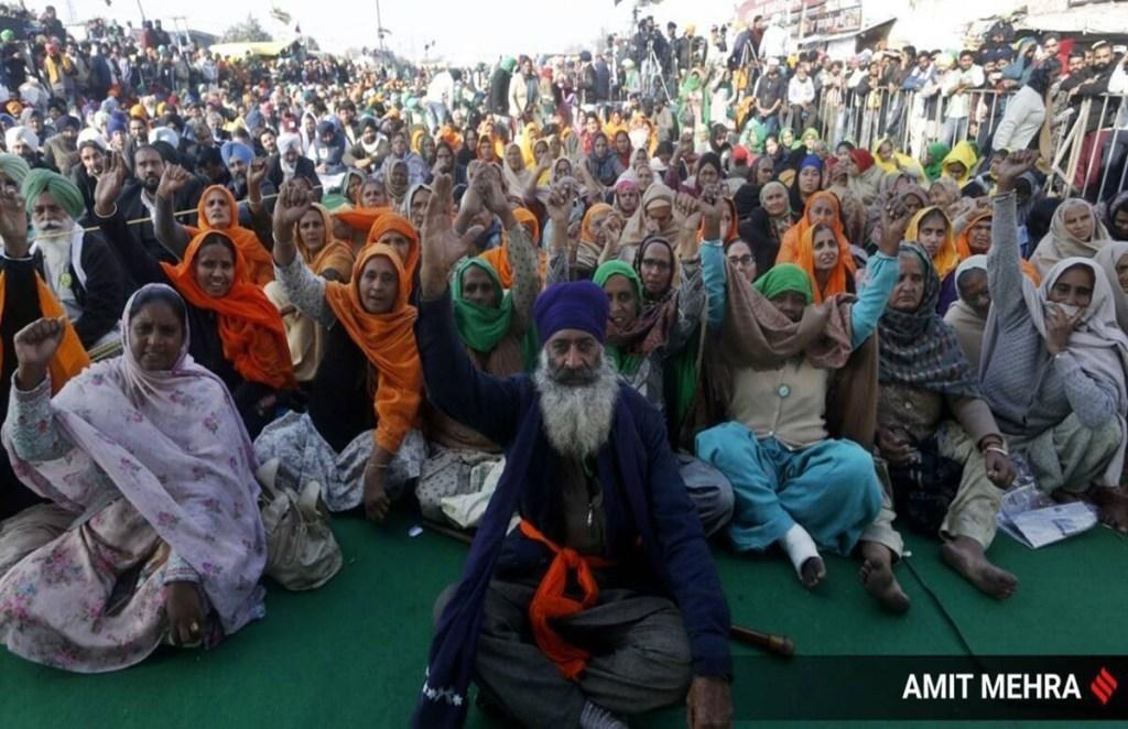 farmers protest, Farm law, Singhu Border