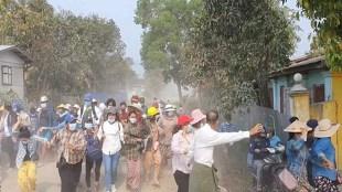 myanmar, protest