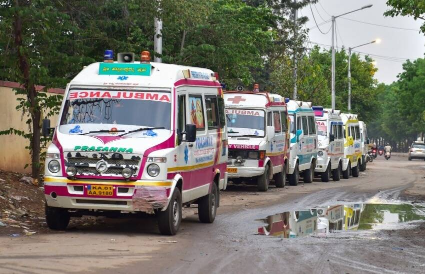 Coronavirus, Ambulance, National News
