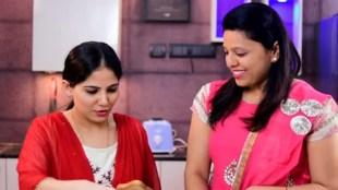 jaya kishori, jaya kishori making pizza, jaya kishori ji bhajan