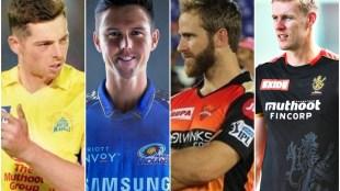 Mitchell Santner Trent Boult Kane Williamson Kyle Jamieson IPL 2021 MI RCB SRH CSK1
