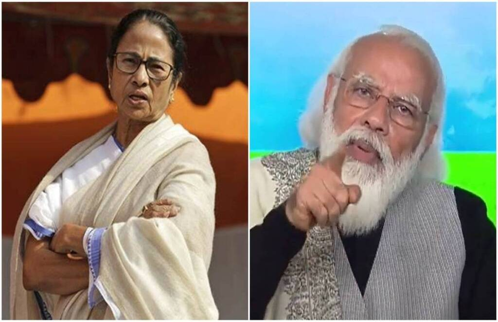 West Bengal Assembly Election 2021, Mamata Banerjee, Narendra Modi