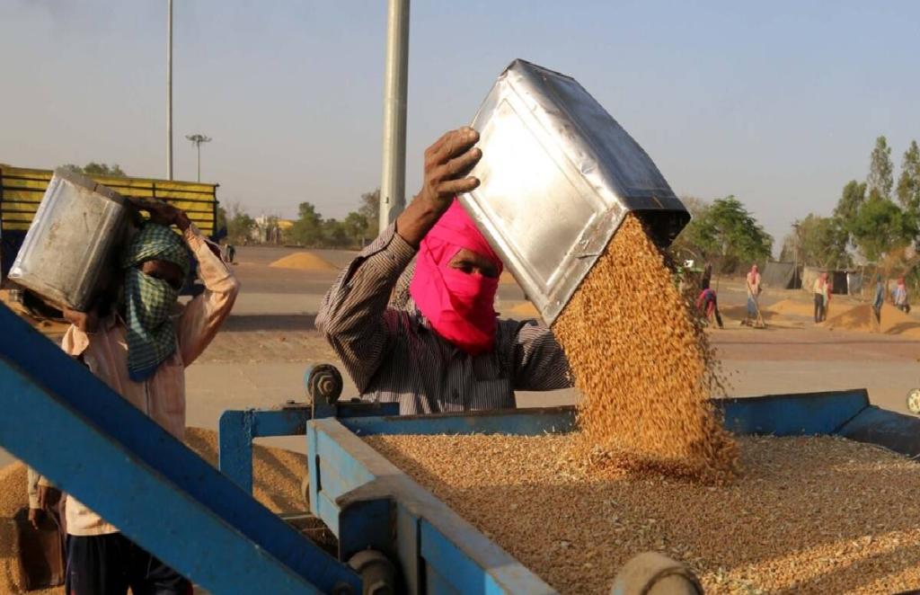Punjab, Punjab Farmers, blank cheques, arhtiya demanding, BKU leader