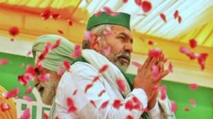 rakesh tikait, congress leader acharya pramod krishnam, attack on rakesh tikait