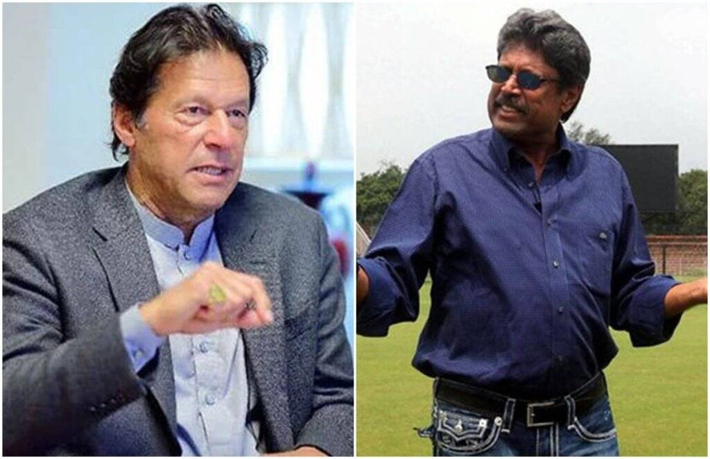 Kapil Dev Imran khan Ind vs pak2