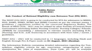 neet 2021, neet, neet 2021 registration, neet 2021 exam date, neet pg 2021,