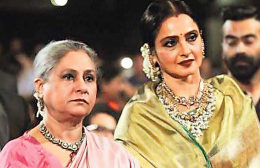 रेखा ने अमिताभ बच्चन की बीवी संग रिश्ते पर कहा था-जया बच्चन नहीं हैं बेचारी  और इनसिक्योर - Jansatta