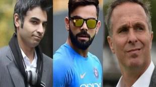 Salman Butt, Michael Vaughan, Virat Kohli