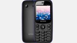 intex phone, feature phone, feature phone under 1000