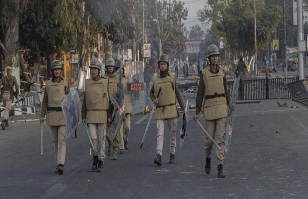 Assam Police, COVID-19 Curfew