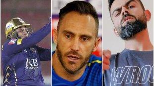 Azam Khan Faf Du Plessis Virat Kohli Six Pack IPL 2021 PSL 2021