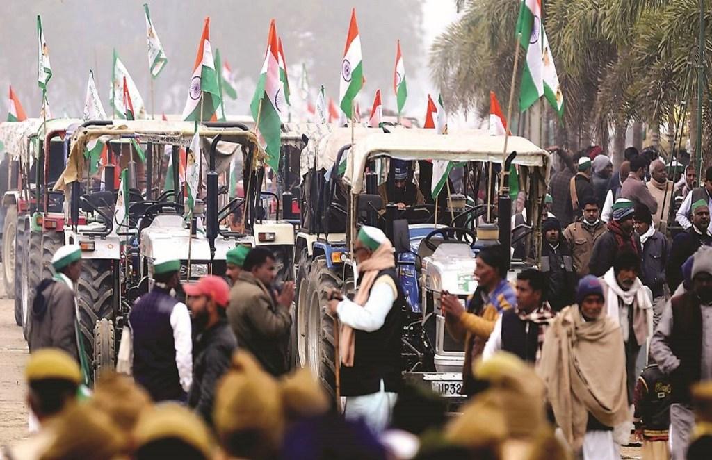 Rakesh Tikait, Farmers Protest, Tractor Rally, Naresh Tikait Ghazipur Border, Farm Laws, Ghaziabad News, Farmers Tractor Rally,राकेश टिकैत, किसान आंदोलन, ट्रैक्टर रैली, नरेश टिकैत गाजीपुर बॉर्डर, कृषि कानून, गाजियाबाद न्यूज, किसान ट्रैक्टर रैली,Hindi News, News in Hindi, June 26 protest, farmer protest, tractors, parade rehearsal, farm law protest, jansatta