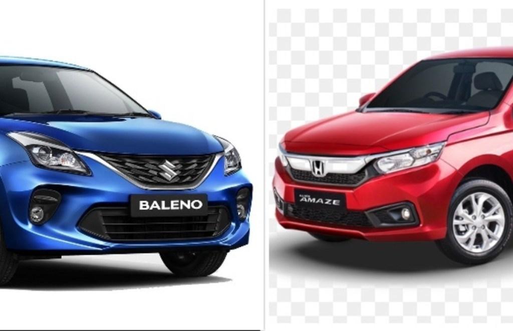 Honda Amaze vs Maruti Suzuki Baleno